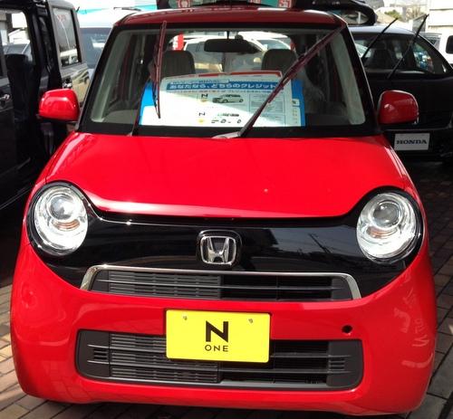 ホンダの軽自動車【N-ONE】
