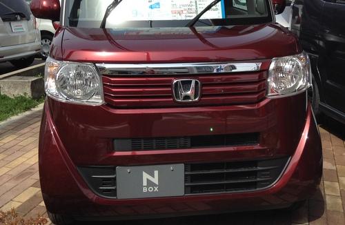 ホンダの軽自動車【N BOX
